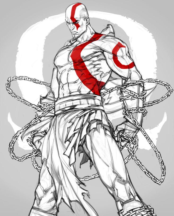 Drawn wars god war 25+ war Best GOW deviantART