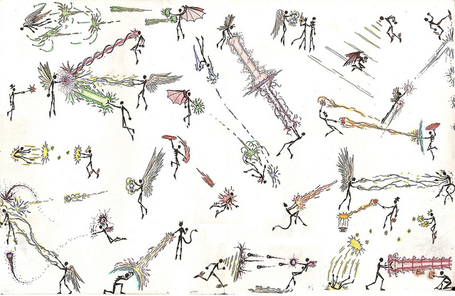 Drawn wars stick war Stick Stickman a draw war