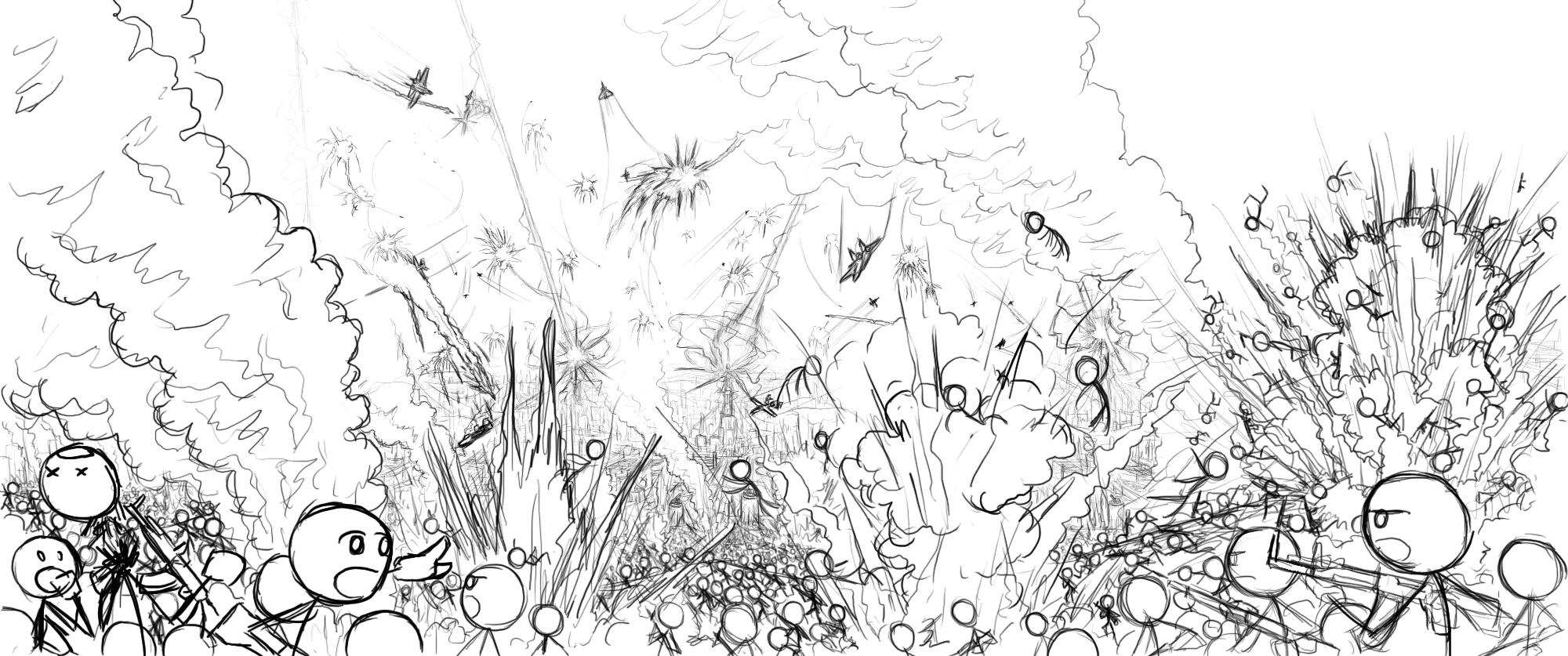 Drawn wars stick war Drawing Pic War War Drawing