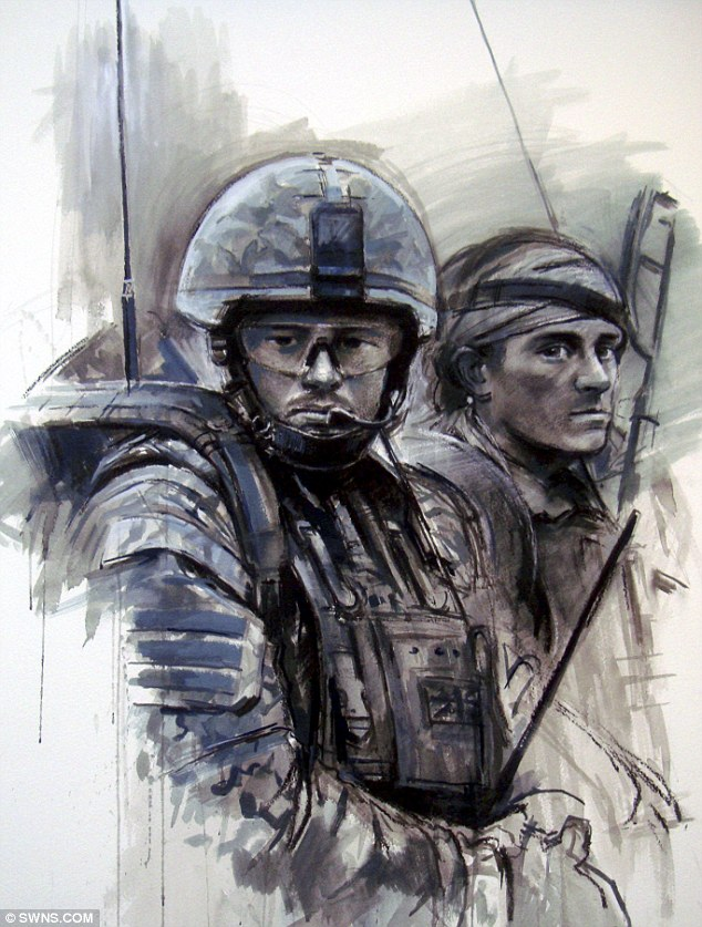 Drawn wars war art Emotive by works in and