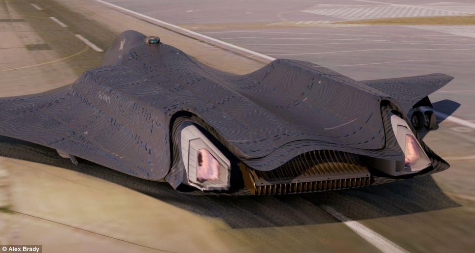 Drawn aircraft car #4