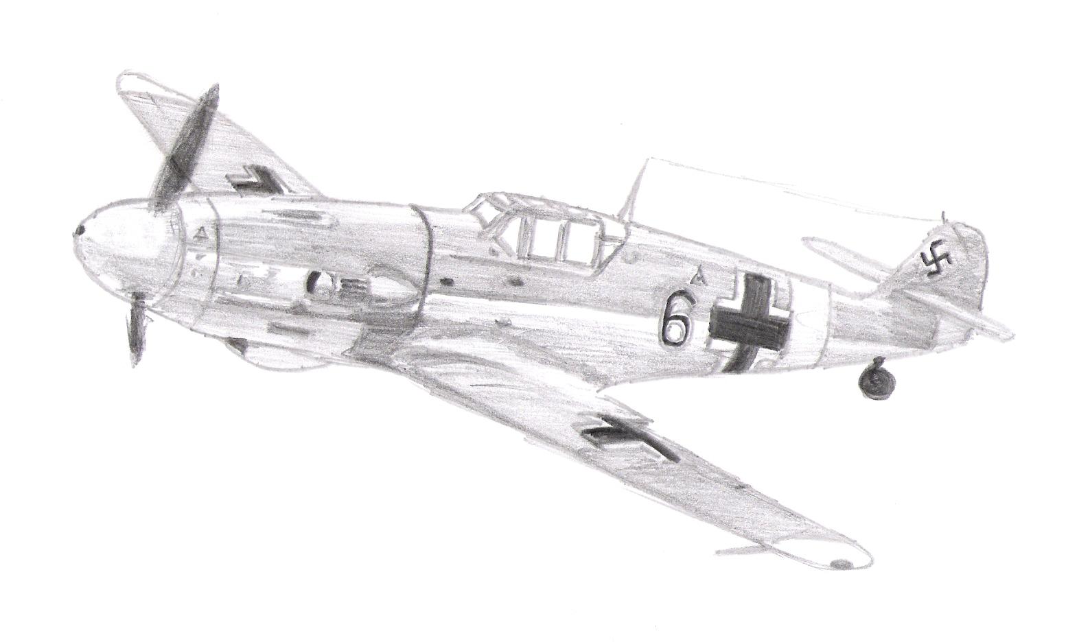 Drawn aircraft ww2 airplane  Planes Pinterest German plane