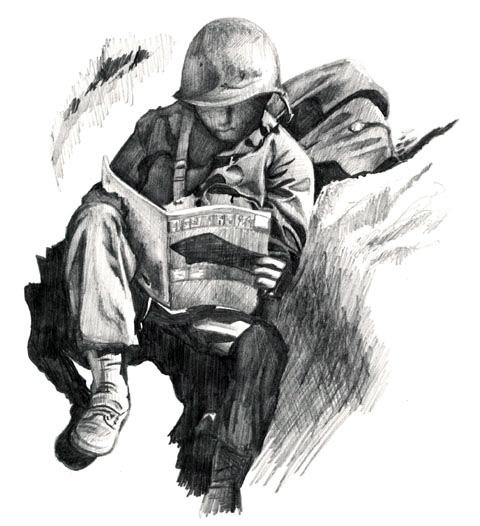 Drawn wars ww2 soldier View II World II 480