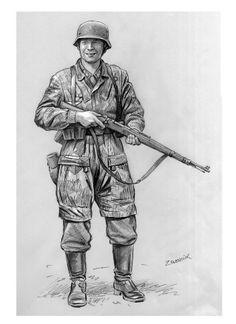 Drawn wars ww2 soldier German  German com/JJKG123456789/world pinterest