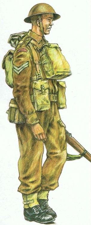 Drawn wars ww2 soldier A II War early soldier