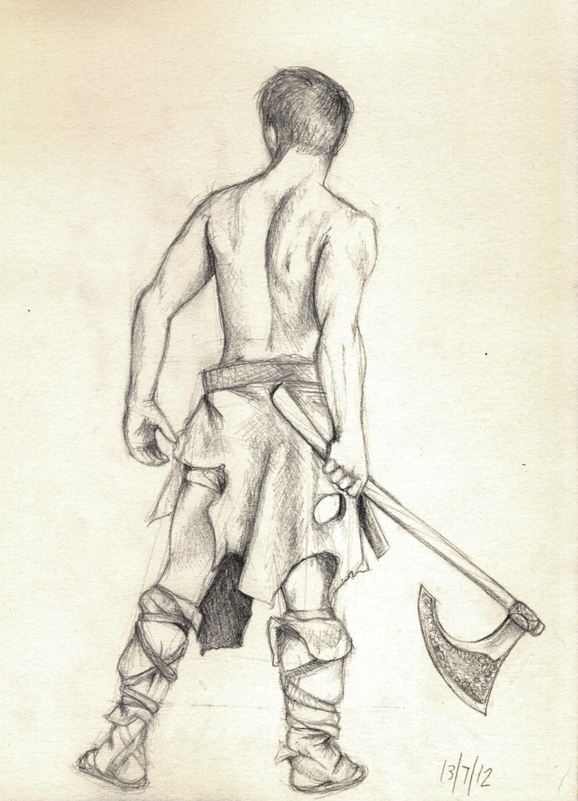 Drawn warrior Warrior This jack – Sketch