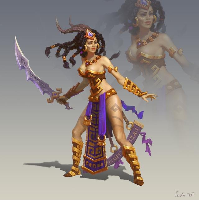 Drawn warrior amazon _13814_Amazon_Warrior_2d_fantasy_character_girl_woman_warrior_amazon Warriors Black Fantasy