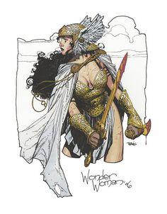 Drawn warrior amazon Travis Warrior Wonder  ivettepuig