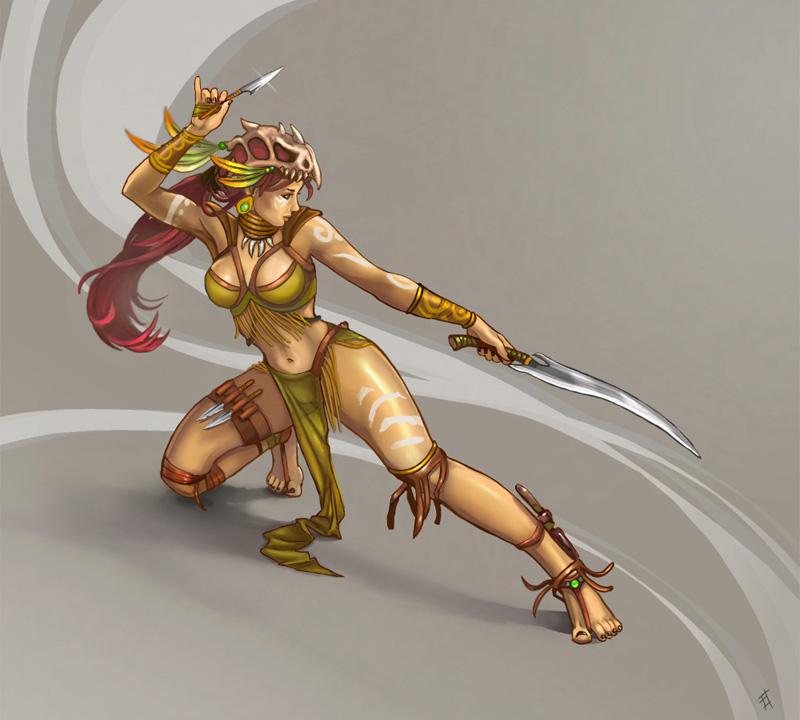 Drawn warrior amazon Star Vermin Amazon DeviantArt Star