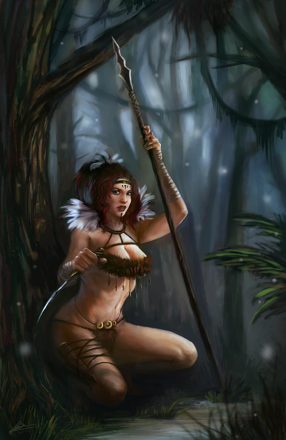 Drawn warrior amazon Amazon PaperPillow Amazon on Star