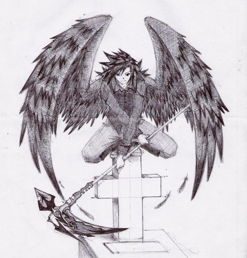 Drawn warrior anime Krieger Zeichnung Die Bilder warrior