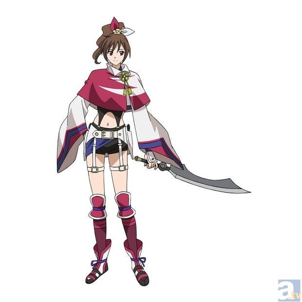 Drawn warrior anime samurai