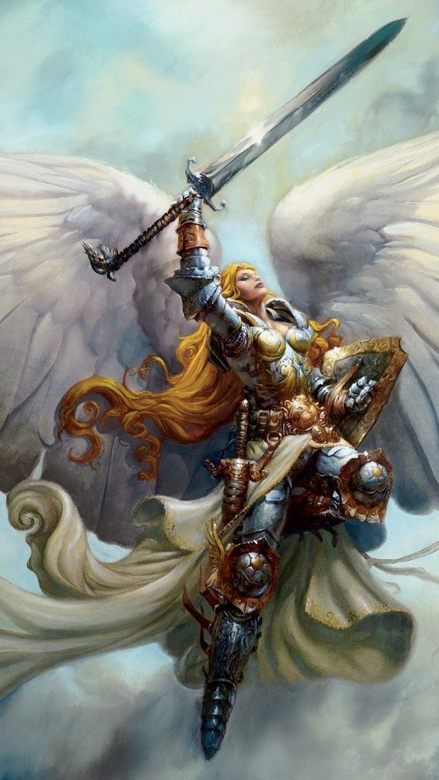 Drawn warrior archangel gabriel Angel Pinterest Angels Warrior best