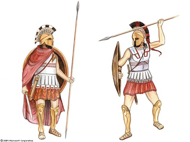 Drawn warrior athenian Of Chapter Warriors Spartans A