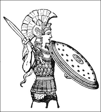 Drawn warrior athenian AND Facts THEIR SPARTANS VALUES