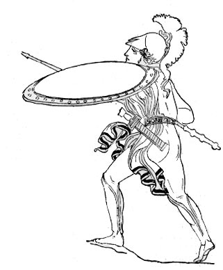 Woman Warrior clipart athenian Greeks Soldier Greeks Fighting