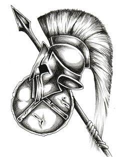Drawn warrior awesome Warrior Tattoo Drawing vou ·