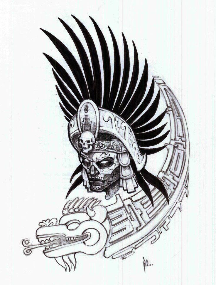 Aztec Warrior clipart mexico city Warrior white on aztec best