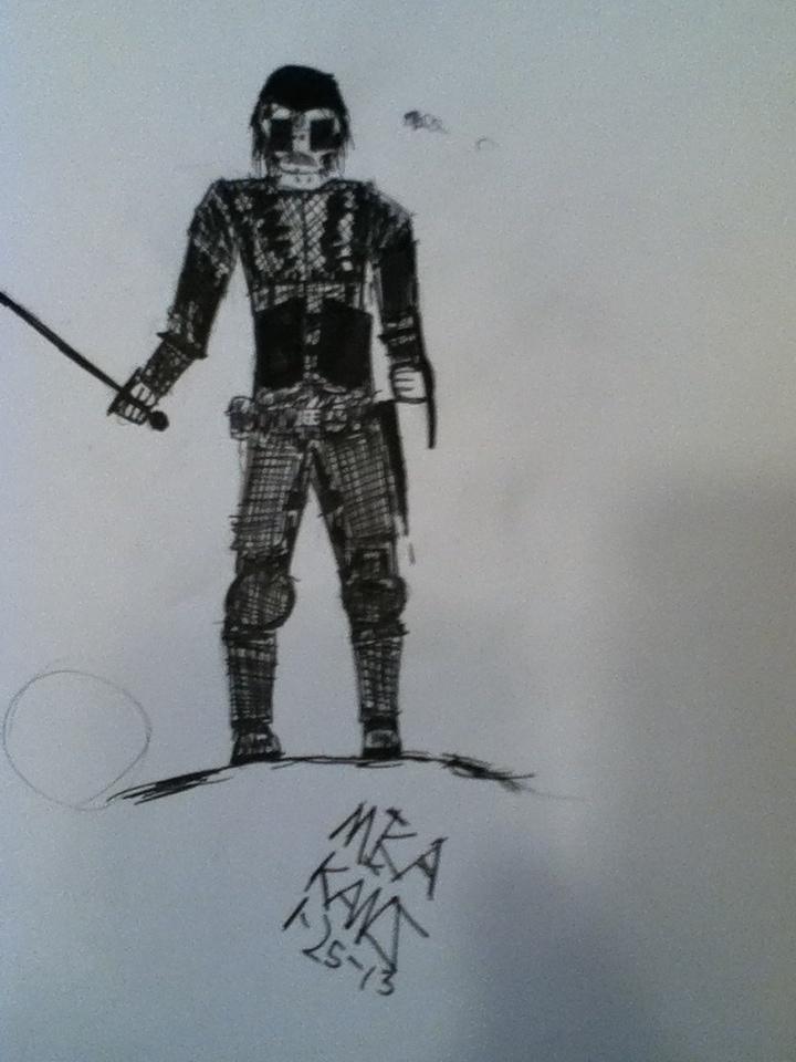 Drawn warrior cyclop One cyclops is a Meet
