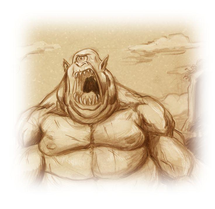 Drawn warrior cyclop Pinterest Cyclops Cyclops 53 about