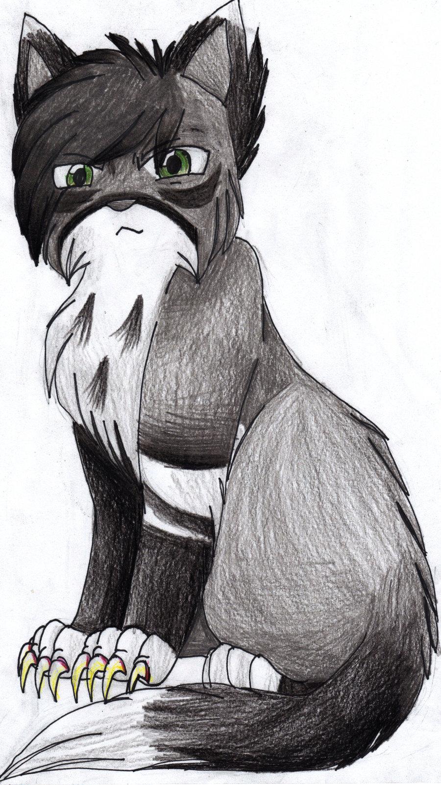 Drawn warrior dark On Pin Feathertail Warrior sister