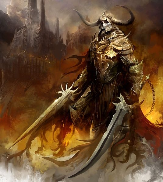 Drawn warrior demon Warrior Beyond 669 kotaki Pinterest