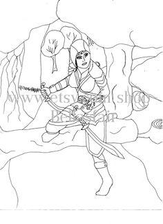 Drawn warrior detailed Drawn Ship rad Lugage warrior