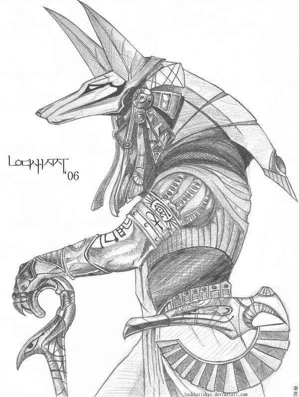 Drawn warrior detailed Best on 877 Anubis Warrior