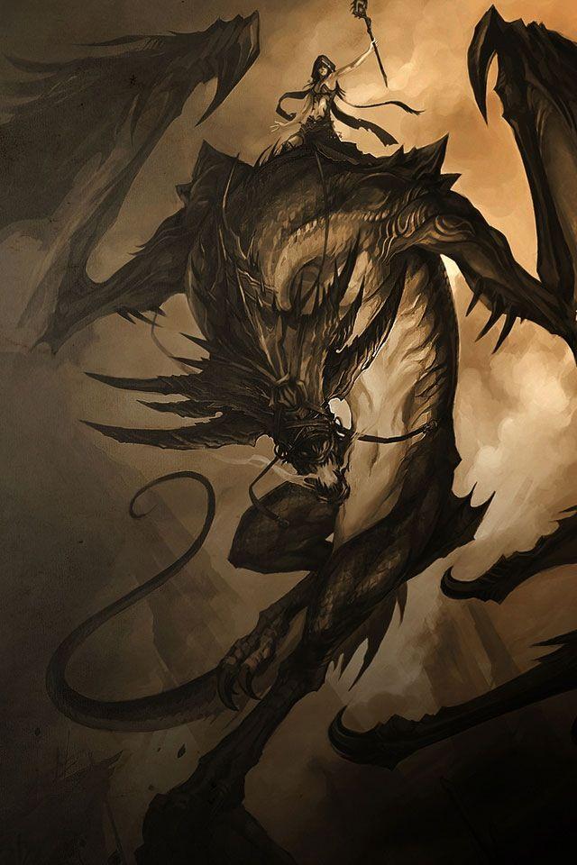 Drawn warrior dragon rider Here Pinterest best Be Dragons