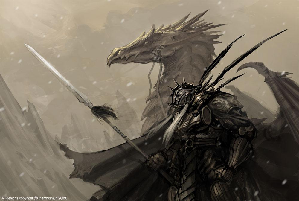 Drawn warrior dragon rider DeviantArt NuMioH on Dragon dragonrider