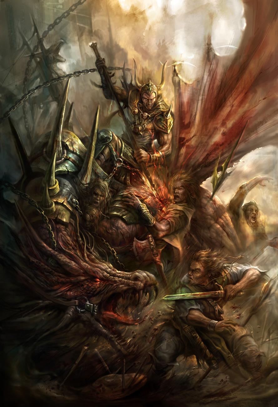 Drawn warrior dragon rider  That Top Sunning Illustrate