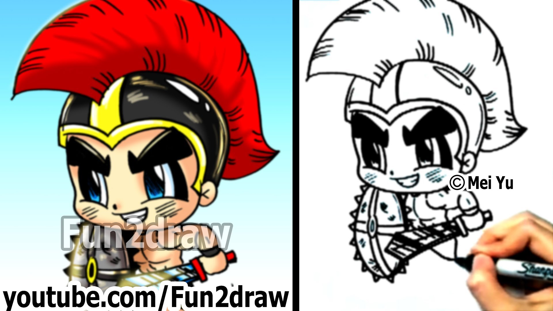 Gladiator clipart roman person How Gladiator Fun People Cartoon