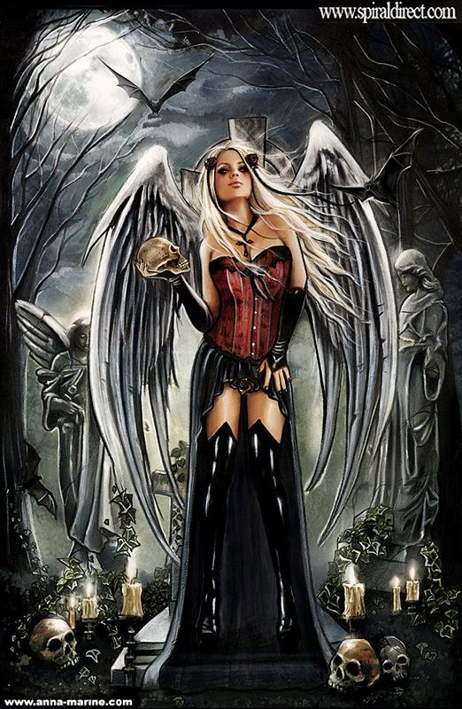 Drawn warrior female angel death By Pinterest for and on