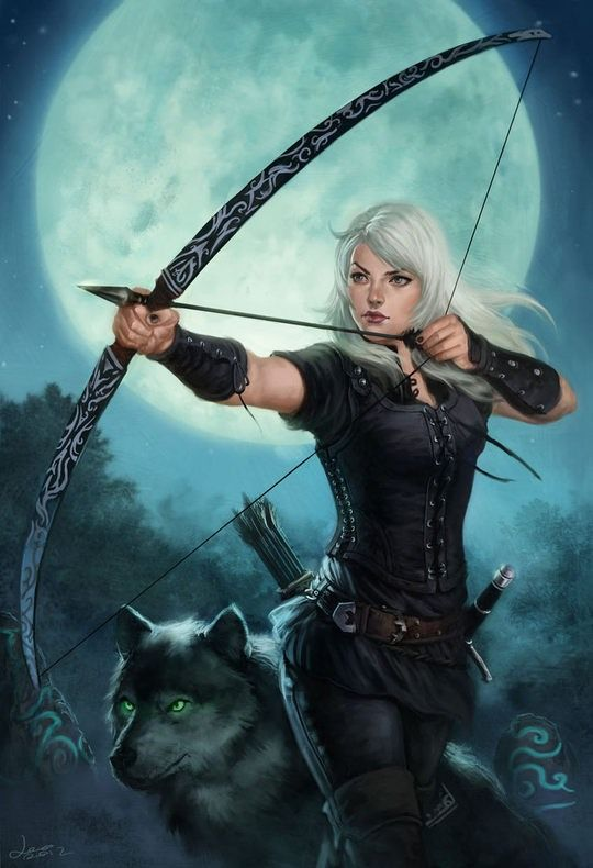 Drawn warrior female archer Find Pin 567 on about