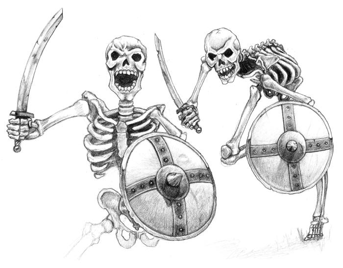 Drawn skeleton skeleton warrior Riordan Skeleton Wikia Skeleton FANDOM