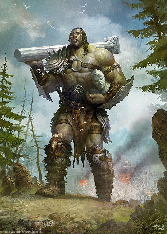 Drawn warrior giant Velinov Warrior velinov Giant on