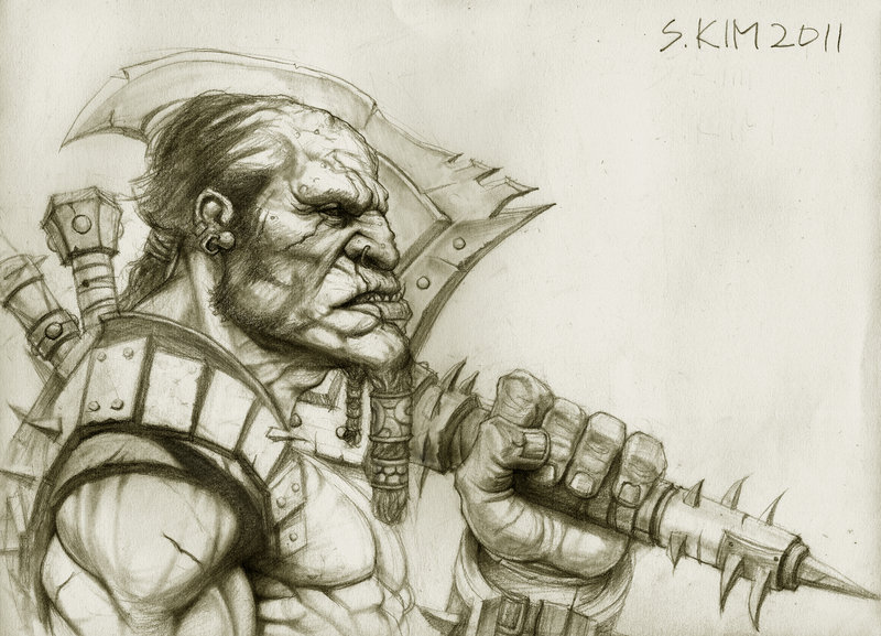 Drawn warrior giant Kimsuyeong81 Warrior Giant on Warrior