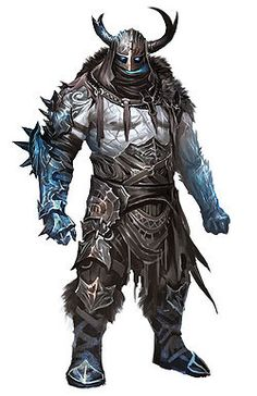 Drawn warrior giant Google giant  frost Jötnar