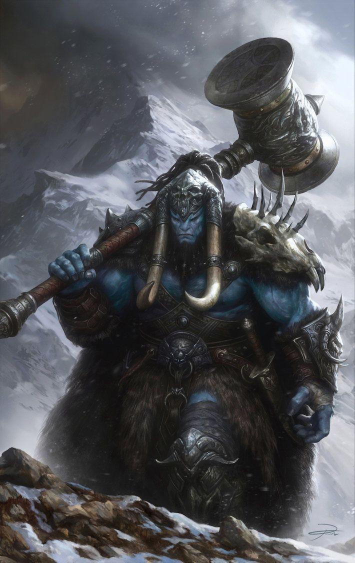 Drawn warrior giant Giants illustration Warrior Jotunns images
