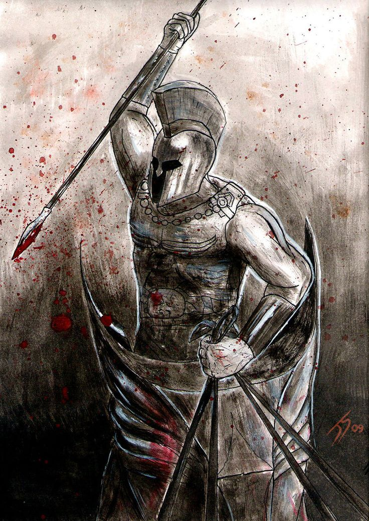 Drawn warrior gladiator Images Spartans Greek Gladiators about