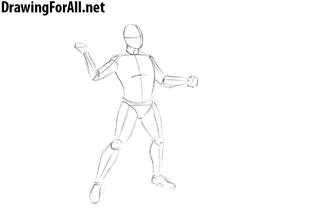Drawn warrior greek soldier Draw lesson drawing net DrawingForAll