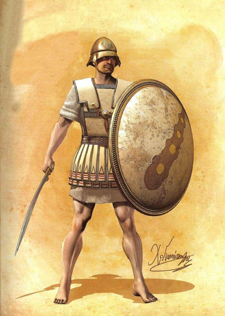 Drawn warrior greek soldier Of 82 Hoplite Warriors images