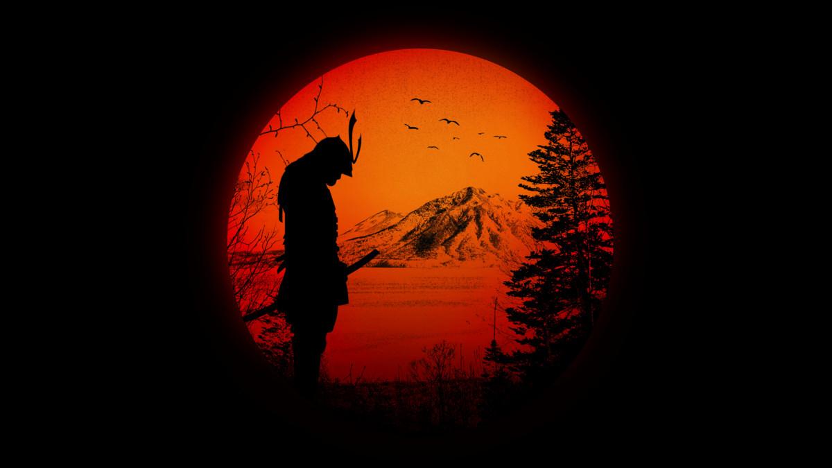 Drawn warrior japan samurai Love / Ninja / Samurai