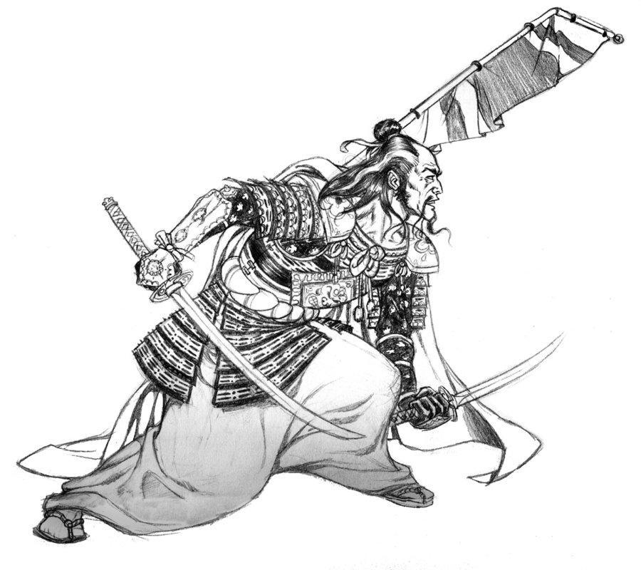 Drawn warrior japan samurai Poses ArtworkSamurai TattooSamurai Google A