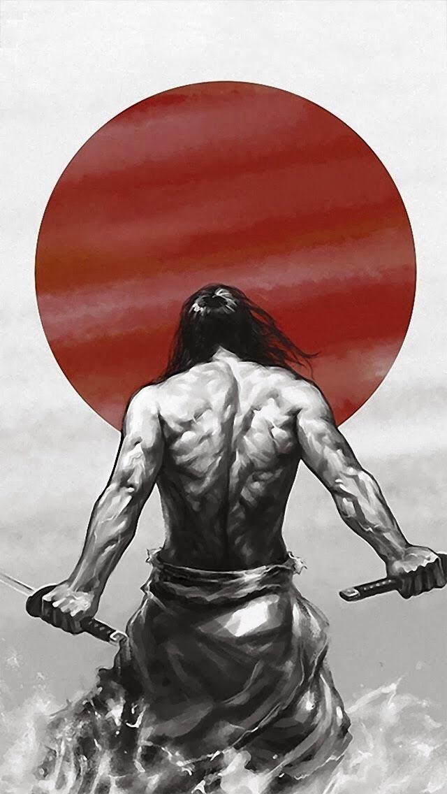 Drawn samurai pinterest Samurai Japanese man! Pinterest Anime