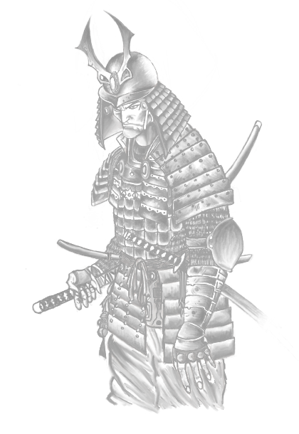 Drawn warrior japanese samurai ViridianDream DeviantArt on by Warrior