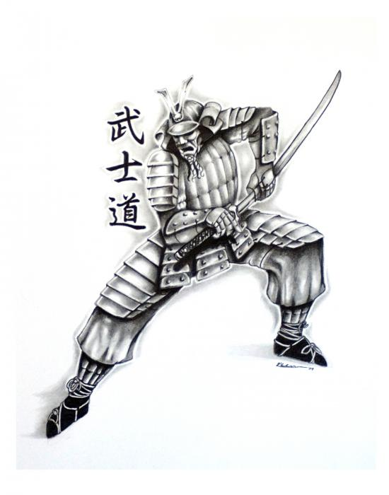 Drawn warrior japanese samurai Samurai Designs Gallery Japanese Designs