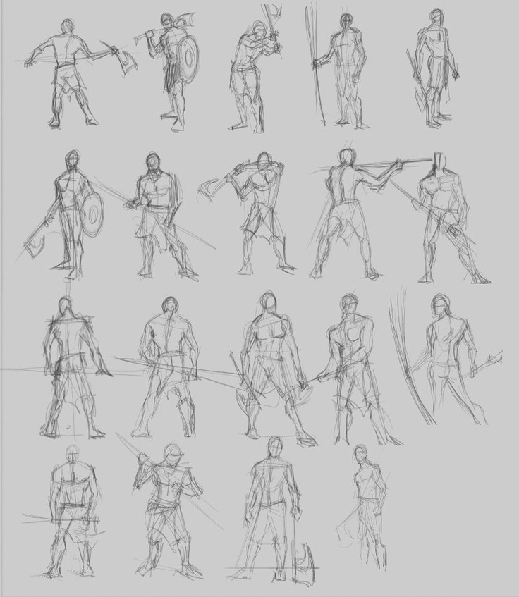 Drawn warrior male warrior Pinterest on best male warrior