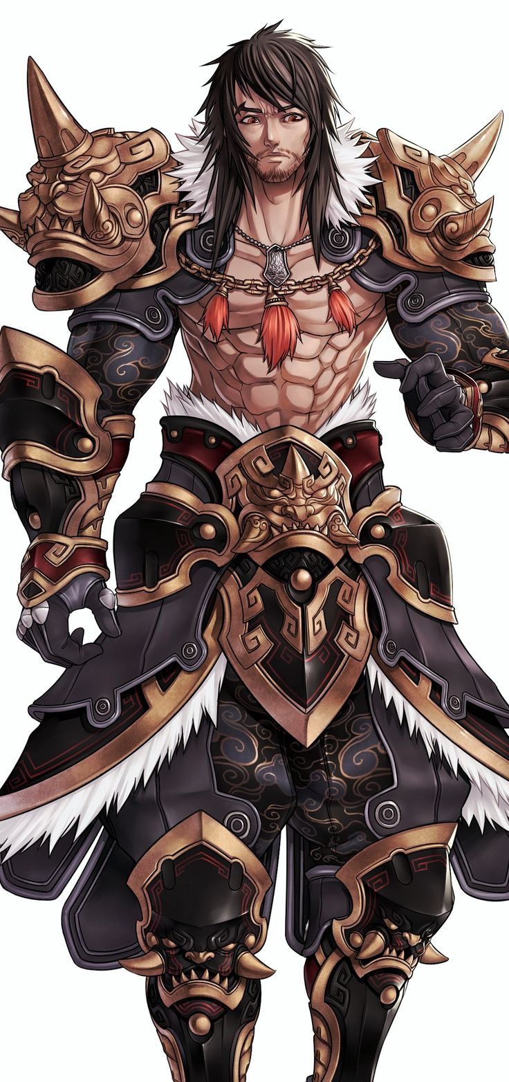 Drawn warrior male warrior Anime ideas 25+  on