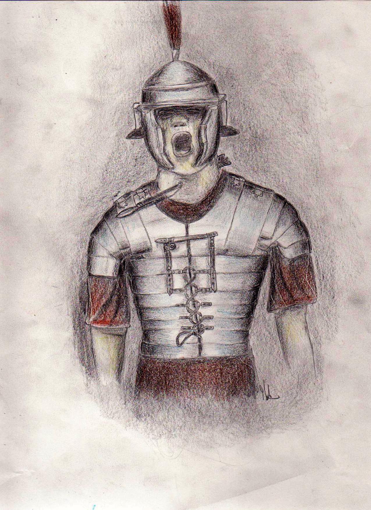 Drawn warrior roman warrior Warrior ozio89 Drawing Feb ©